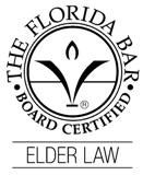 Logo Recognizing Walt Shurden Elder Law's affiliation with The Florida Bar, Board Certified, Elder Law