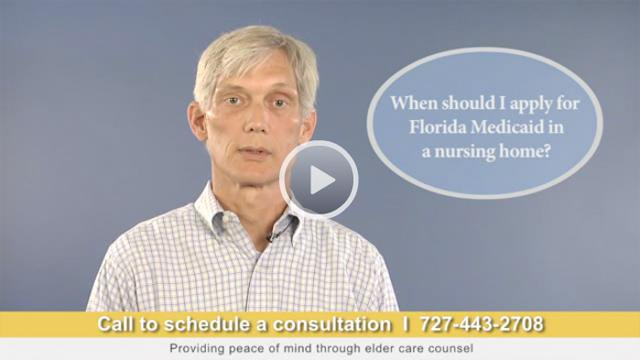 When Should I Apply for Florida Medicaid in a Nursing Home?